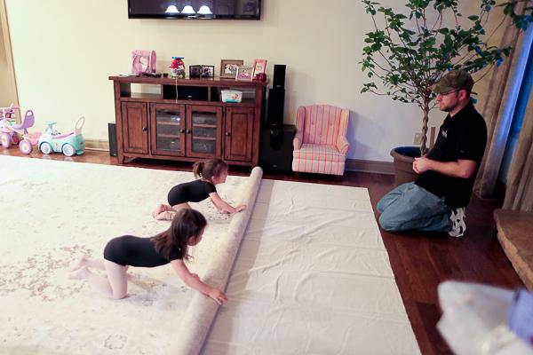 How to Choose a Rug Interior Design Surburban Home 0003
