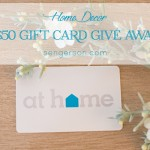 $50 At Home Decor Store Gift Card Giveaway