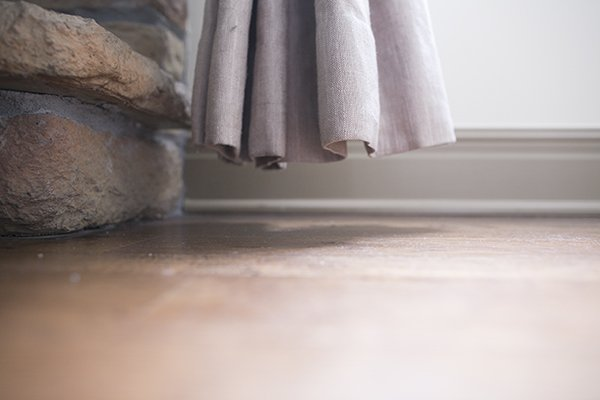 hack to lengthen drapery panel