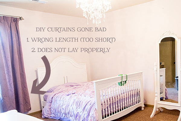 Drapery hanging tips with correct way to hang curtain ideas with pictures. By using curtain side hooks, it allows drapes to hang and look like they were professionally done. This tutorial shows you how to drape curtains with proper curtain lengths, including what traverse drapes look like.