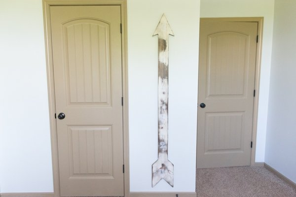Wooden Arrow Growth Chart