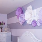 DIY Large Paper Flowers for Above Bed and Headboard Decor