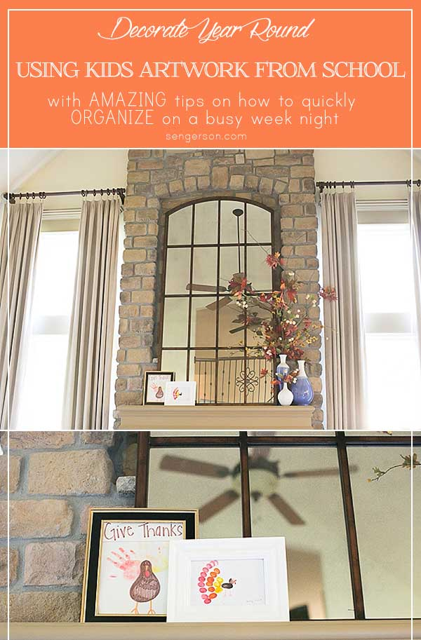 Use Kids Art to Decorate Your Home  with Tips on How to Organize. Use Kids Art to Decorate Your Home  with Tips on How to Organize