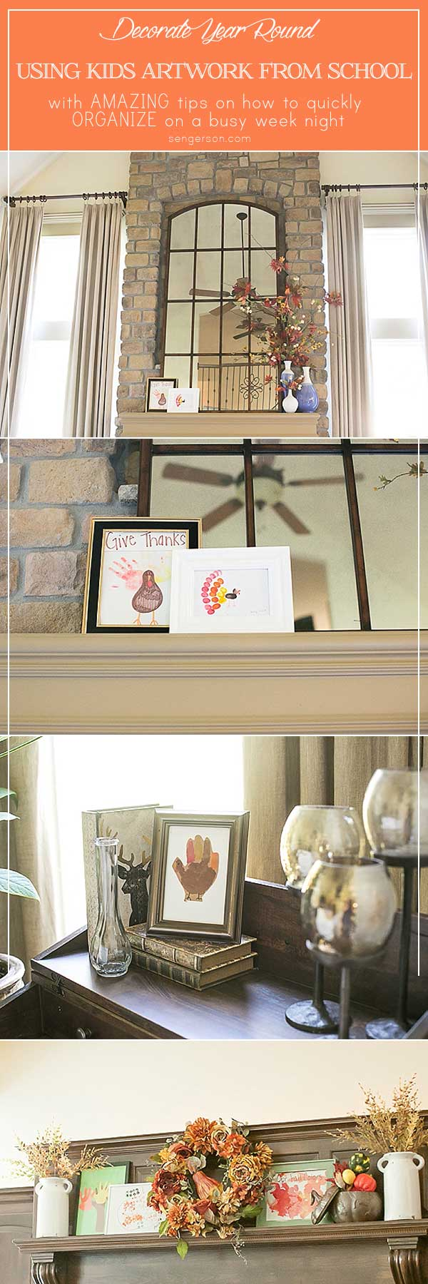 Kids Artwork Pin Use Art To Decorate Your Home