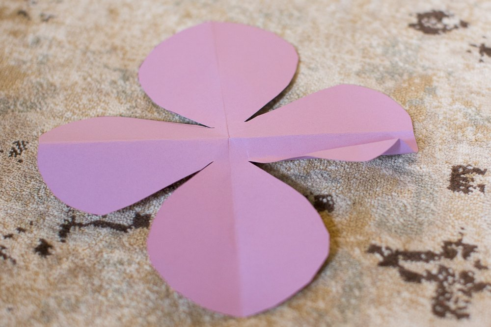 DIY tutorial 3d paper flower tutorial