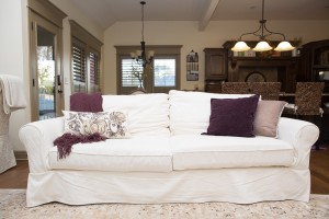 Pottery Barn Grand Sofa in White | 10 Tips on How to Choose a Couch: Pottery Barn versus Ikea Sofa featured by top US lifestyle blogger, Sengerson