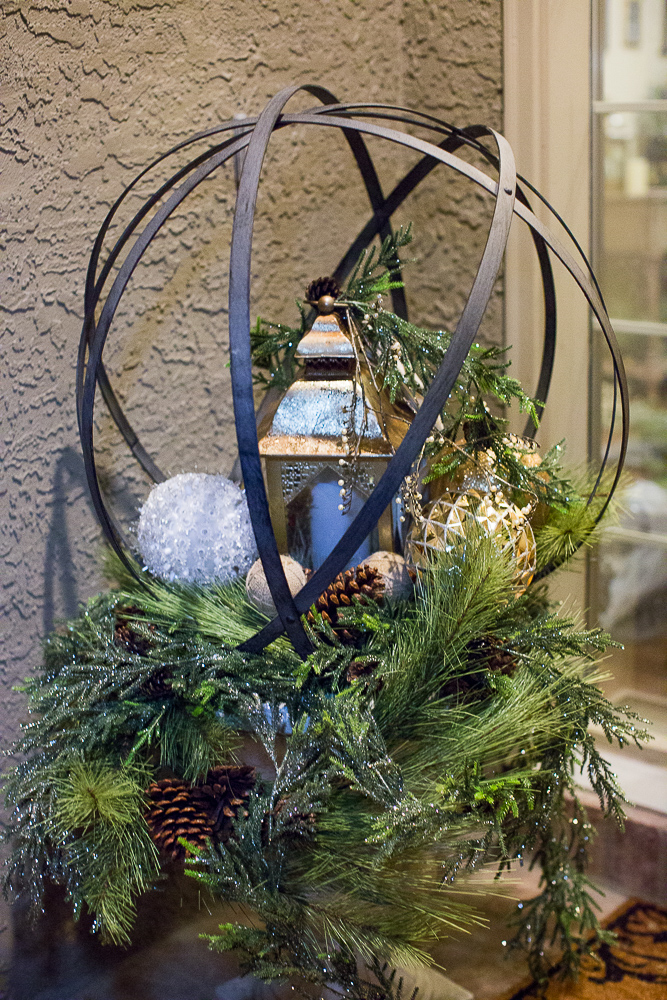 christmas foyer decor13