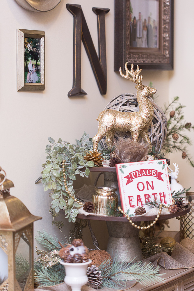 Rustic Luxe Christmas Decor