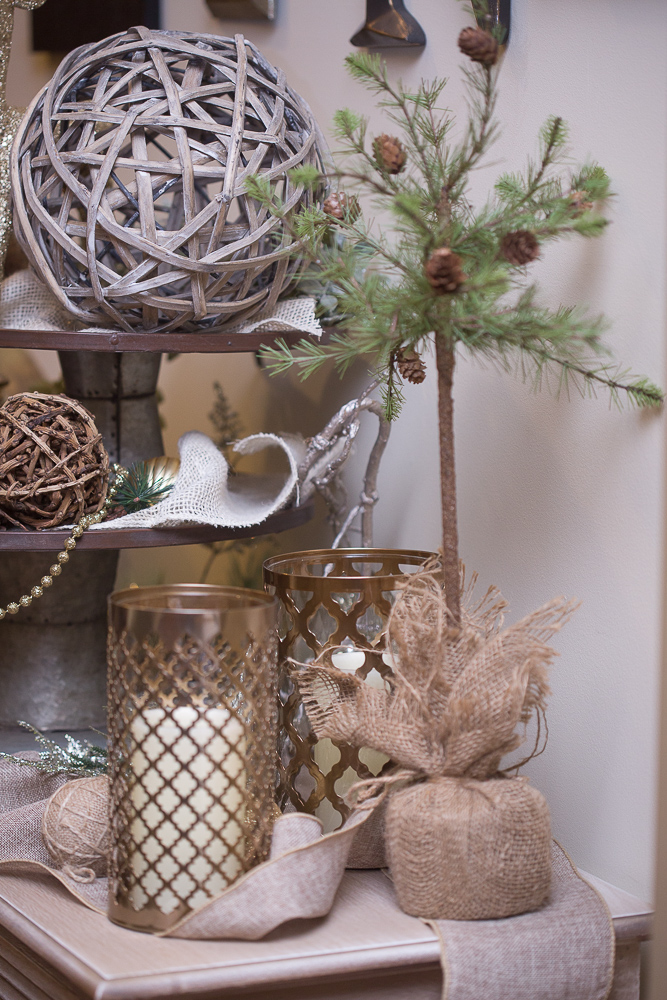 christmas foyer decor33