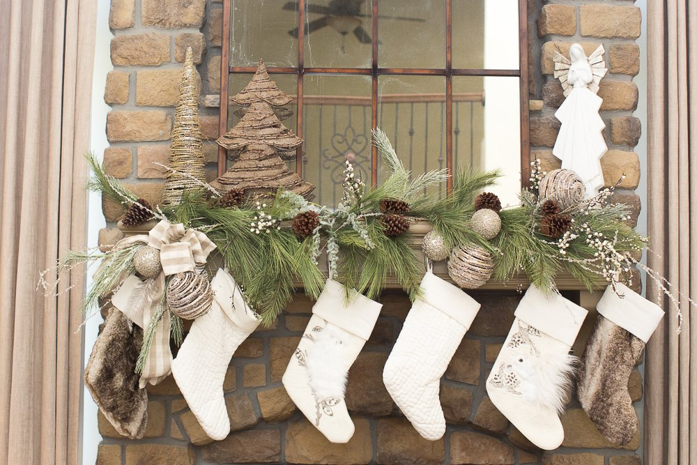 angel hobby lobby stockings pottery barn owl and squirrel faux fur quilted white stocking large sparkle rustic ornament hobby lobby