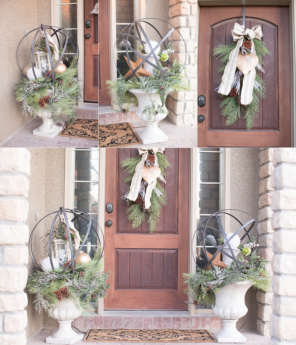 how to decorate rustic christmas decor