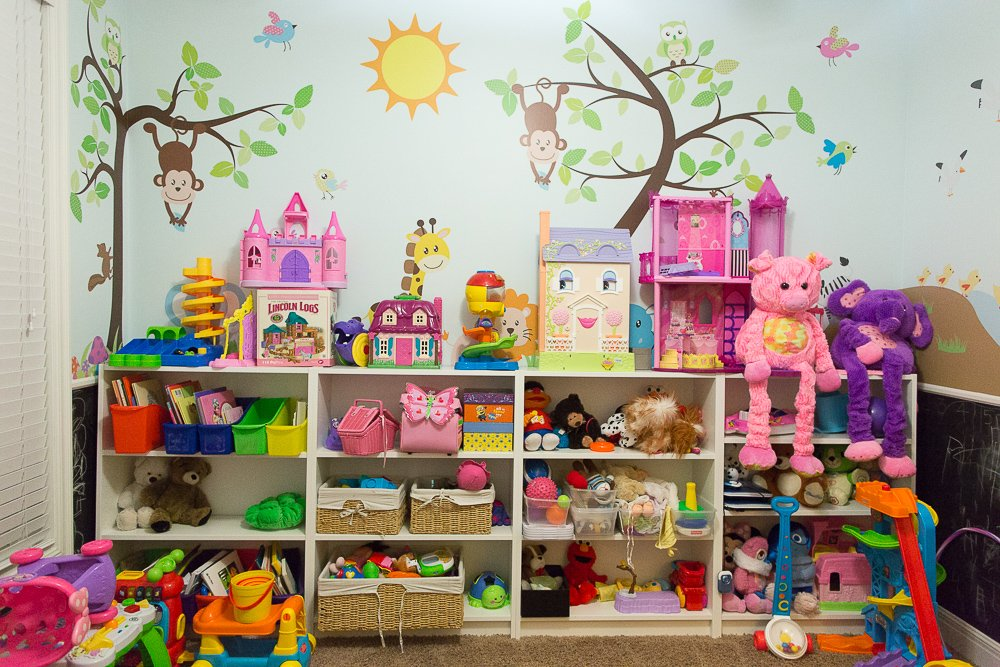 Organize a playroom for How to organize your kids room