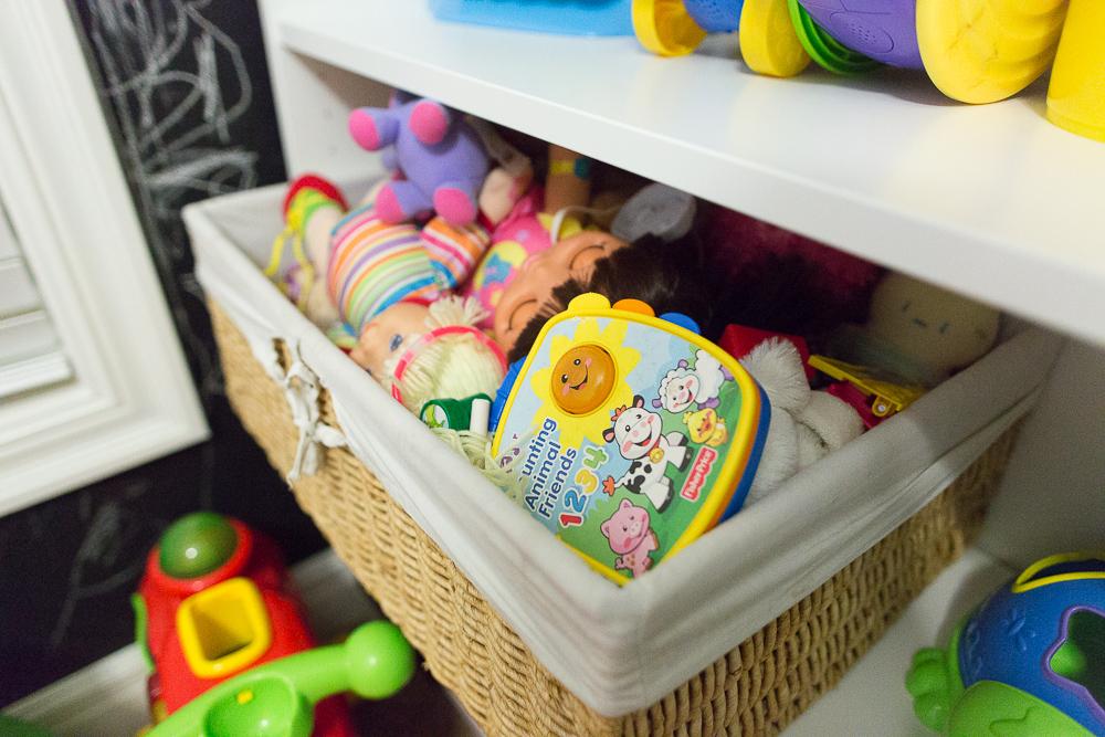 playroom organization