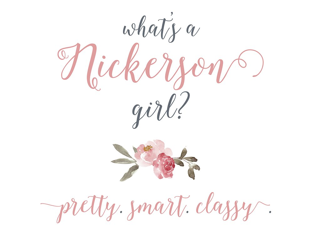 whats a nickerson girl