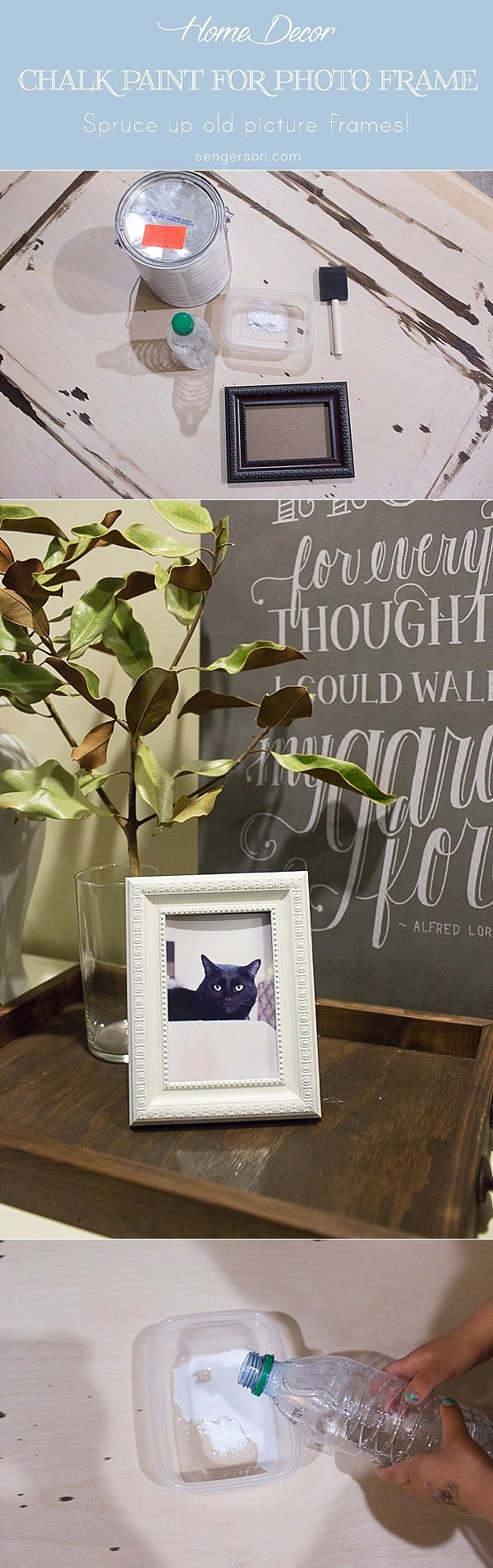 diy chalk frame_0007