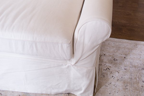 grand sofa review | 10 Tips on How to Choose a Couch: Pottery Barn versus Ikea Sofa featured by top US lifestyle blogger, Sengerson