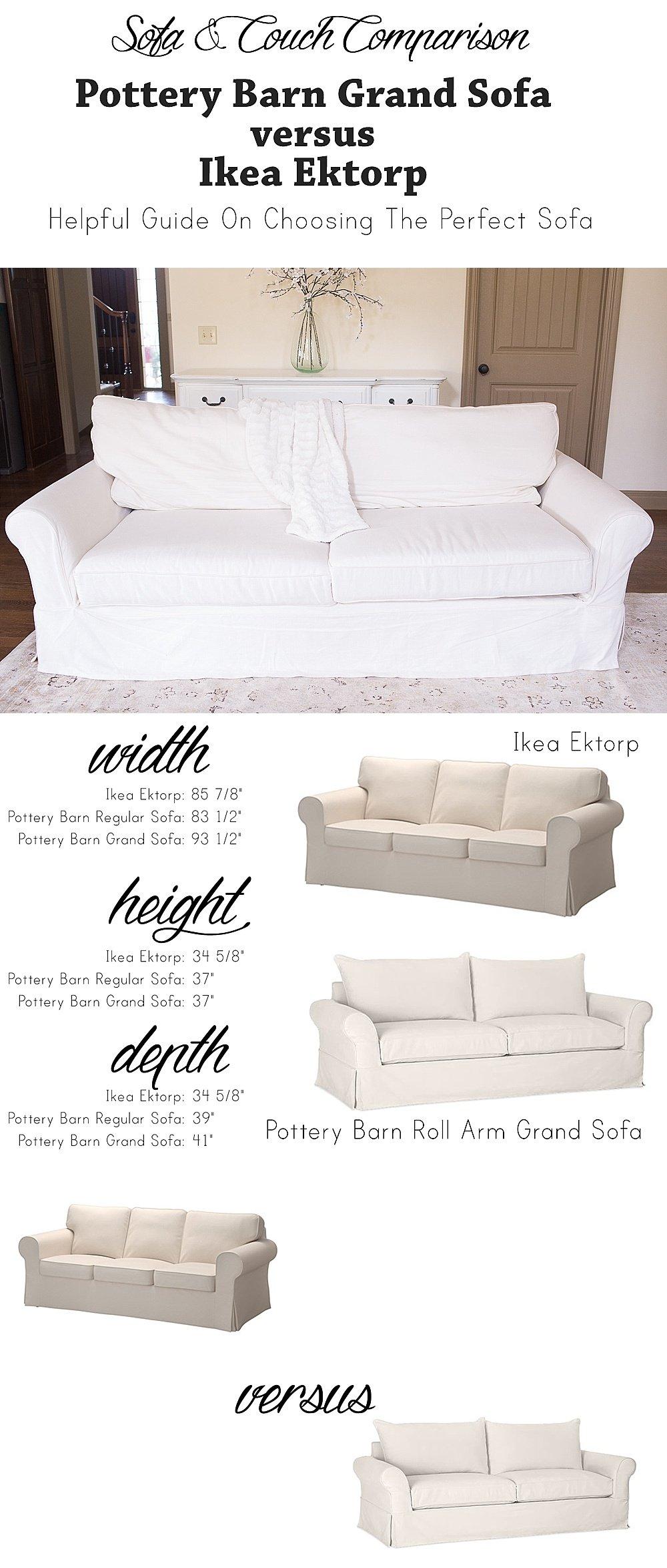 Ikea versus Pottery Barn Sofa how to choose a couch and sofa | 10 Tips on How to Choose a Couch: Pottery Barn versus Ikea Sofa featured by top US lifestyle blogger, Sengerson