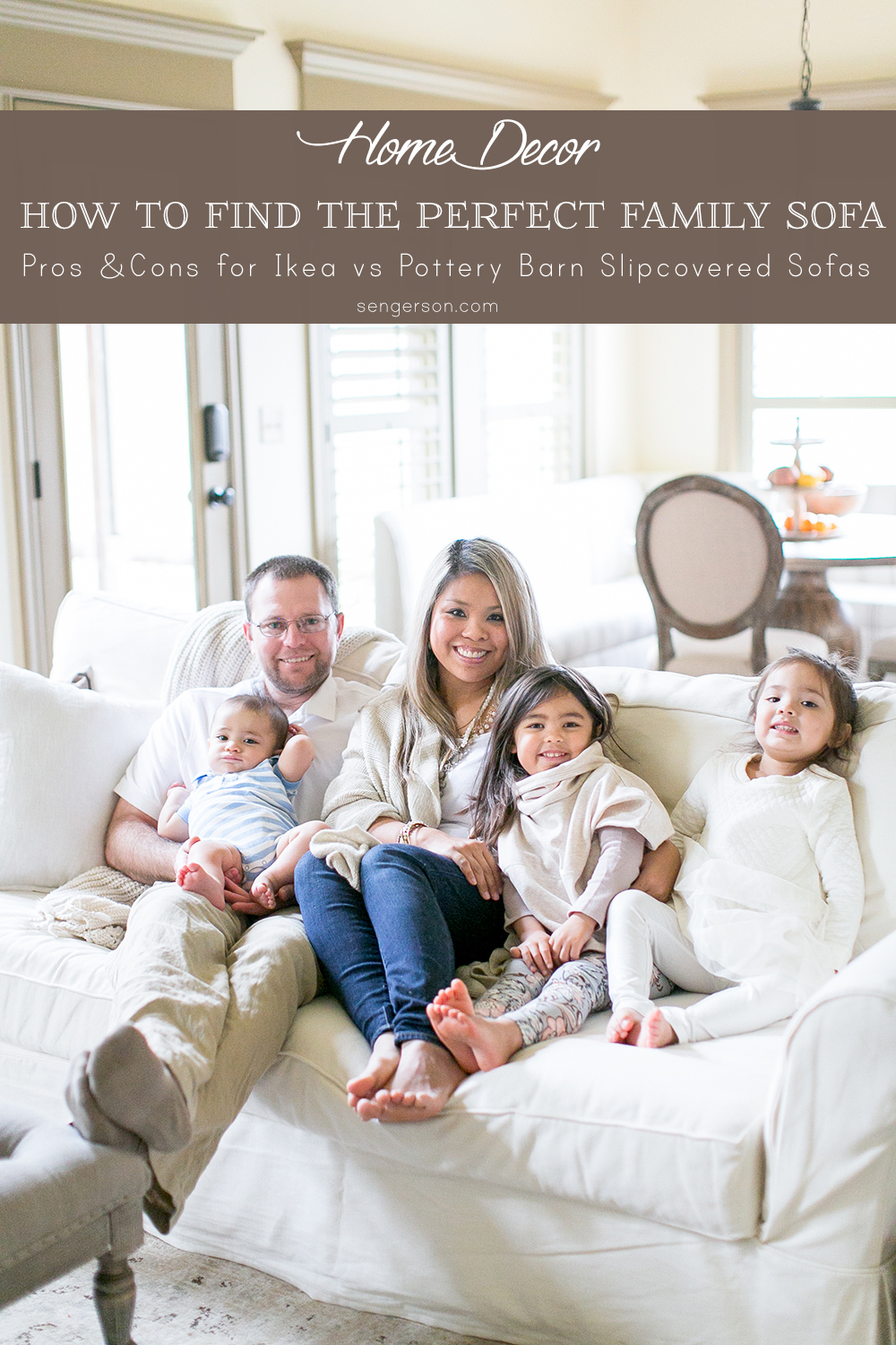 | 10 Tips on How to Choose a Couch: Pottery Barn versus Ikea Sofa featured by top US lifestyle blogger, Sengerson