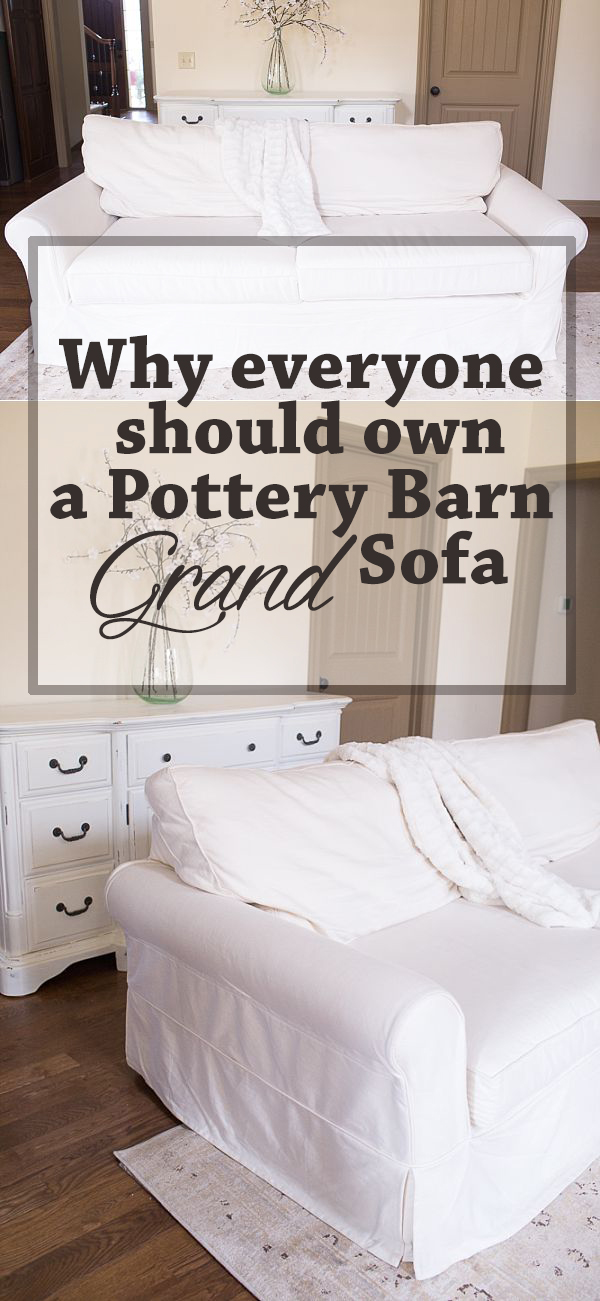 pottery-barn-grand-sofa-deep-seating-review | 10 Tips on How to Choose a Couch: Pottery Barn versus Ikea Sofa featured by top US lifestyle blogger, Sengerson