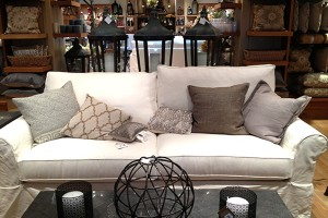 Pottery Barn Grand Sofa Splurge | 10 Tips on How to Choose a Couch: Pottery Barn versus Ikea Sofa featured by top US lifestyle blogger, Sengerson