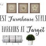 Farmhouse Style Decor Steals at Target