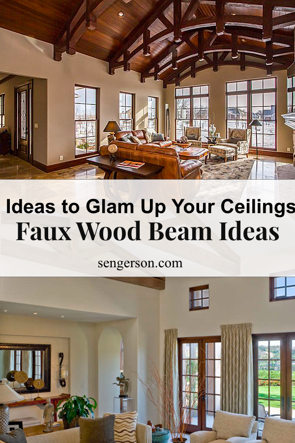 Faux Wood Beam Ideas For Vaulted Ceilings