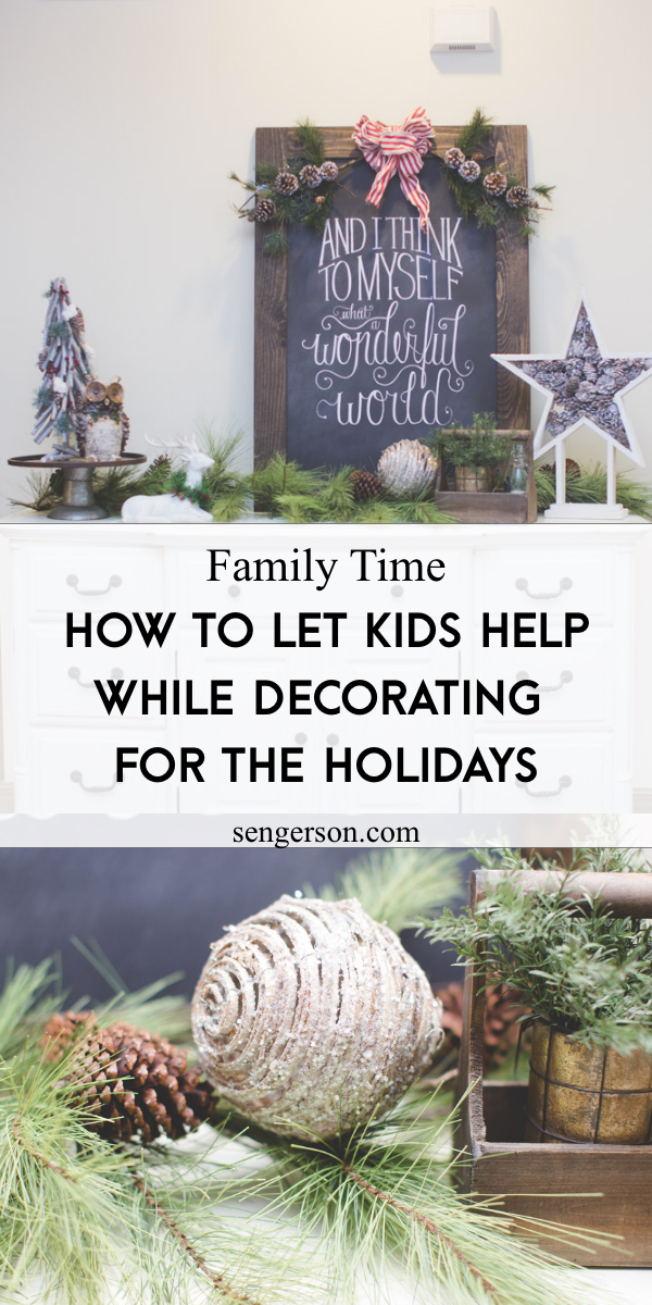 Fun Ways to Decorate for Christmas with Kids