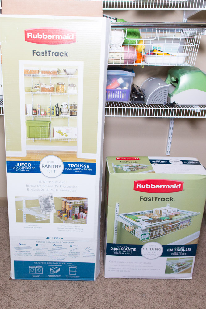 rubbermaid fasttrack scrapbooking