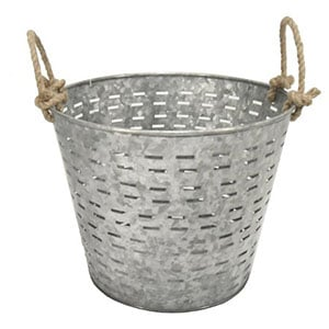 garden basket galvanized