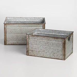 Farmhouse Storage And Metal Baskets