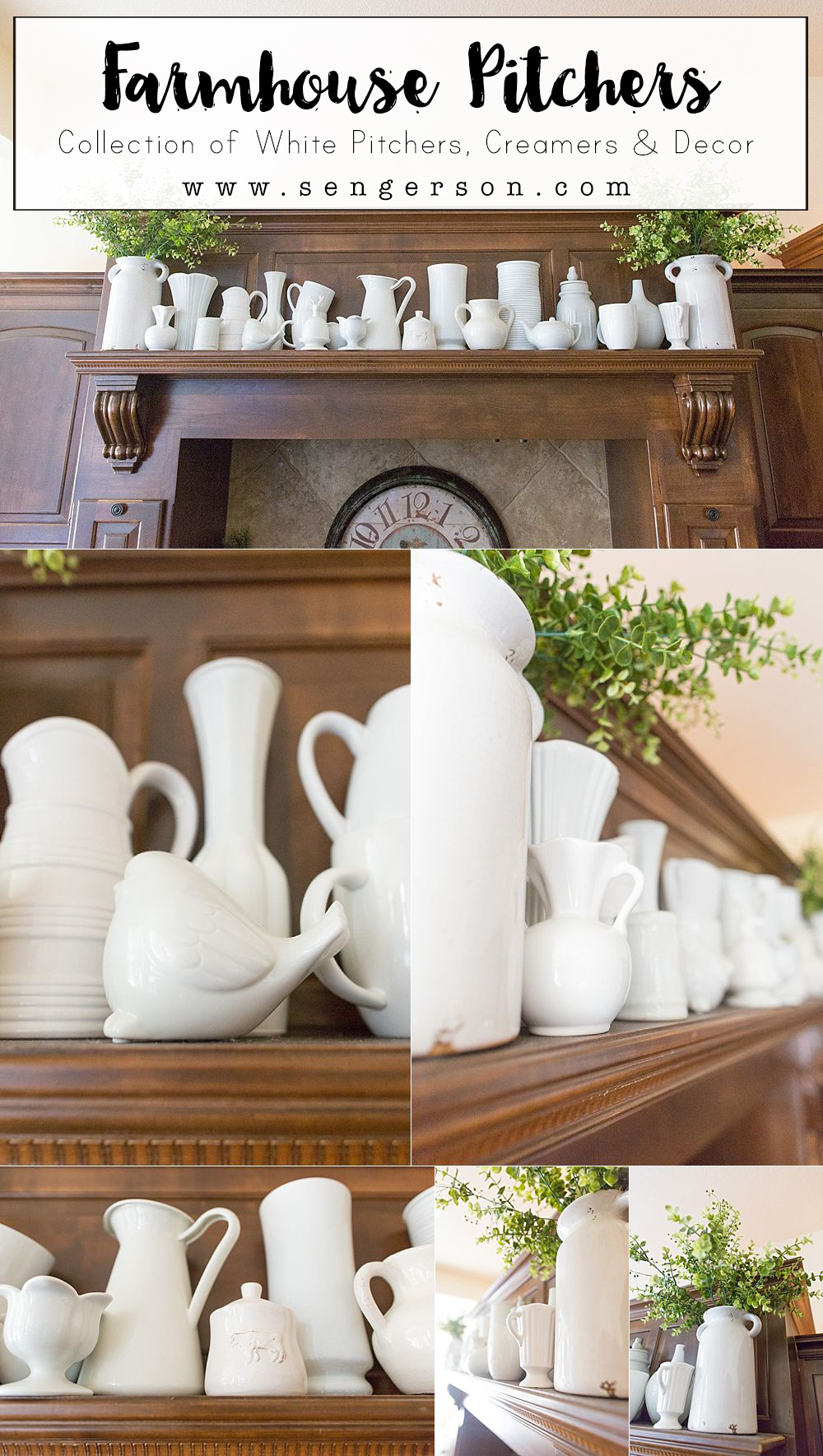 How To Decorate With Farmhouse Pitchers And Vases