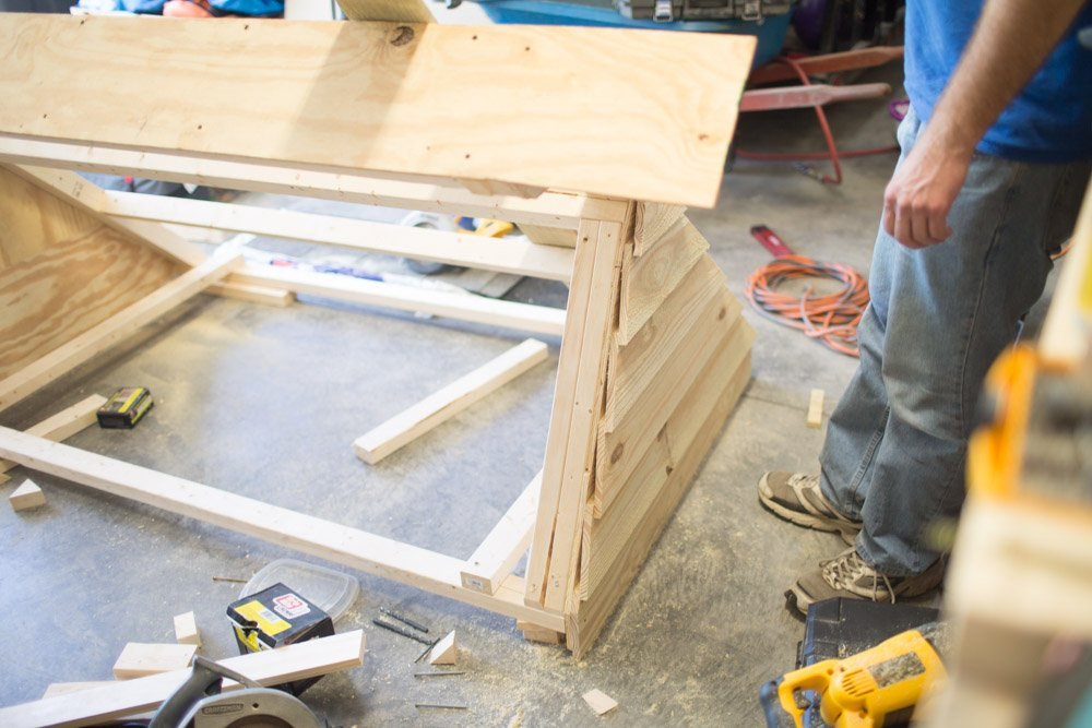 di cold frame top section