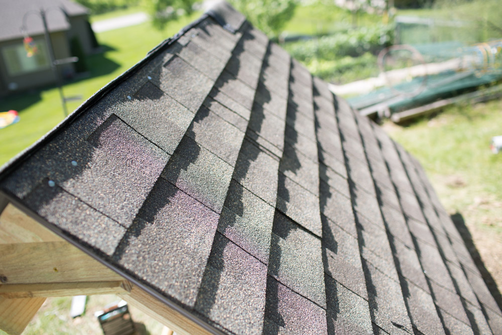 pitch roofing cap ideas