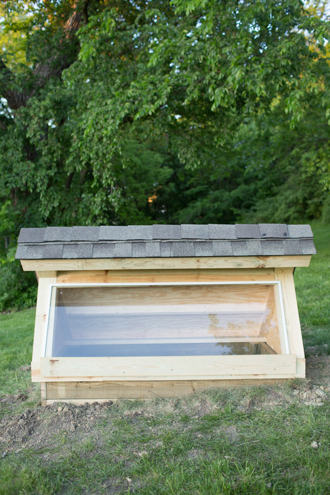 diy cold frame with windows