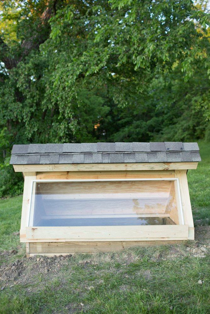 Diy Cold Frame Garden Box Greenhouse For Early Spring And