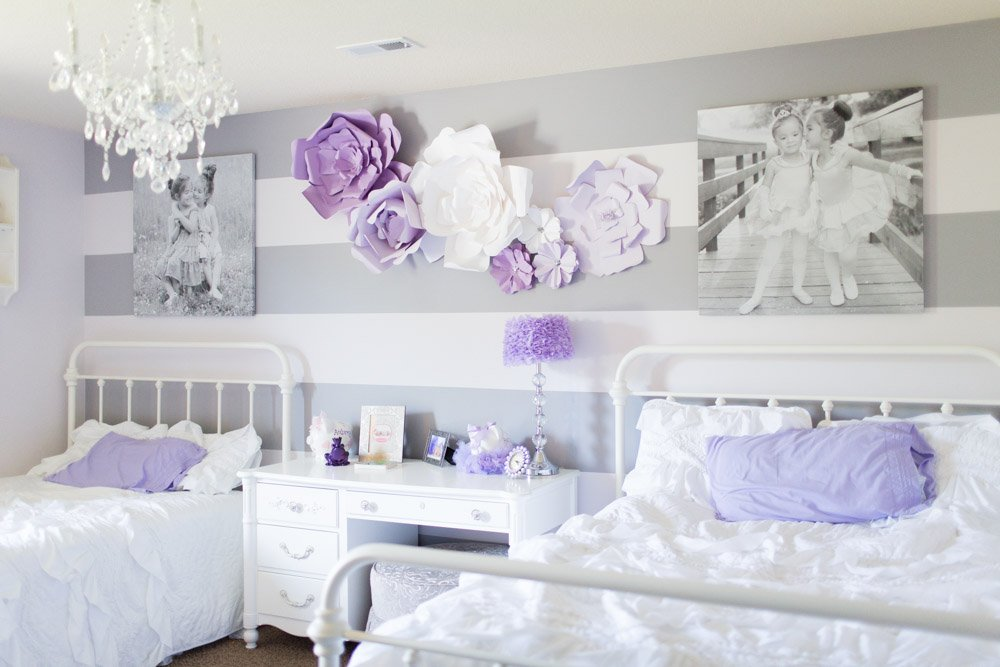 Shared bedroom for sisters for Bedroom ideas for siblings sharing