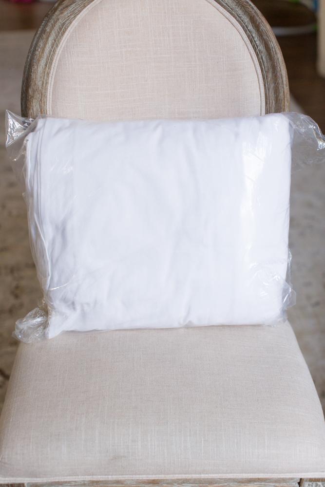 How I Keep Our White Sofa Clean
