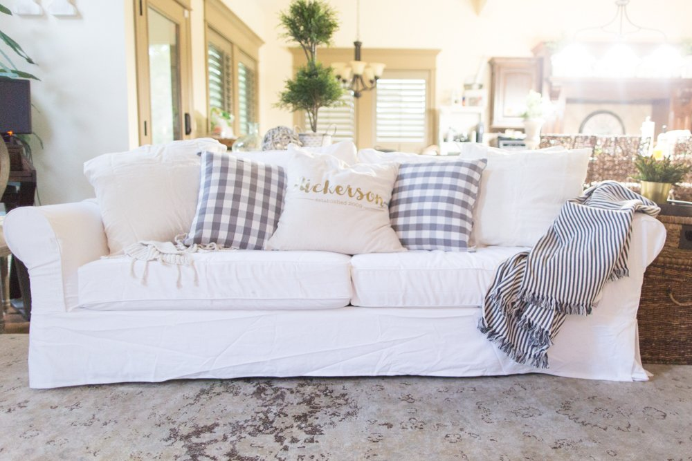 best slipcovered sofas, white slipcovers, white couch slipcovers, white sofa covers