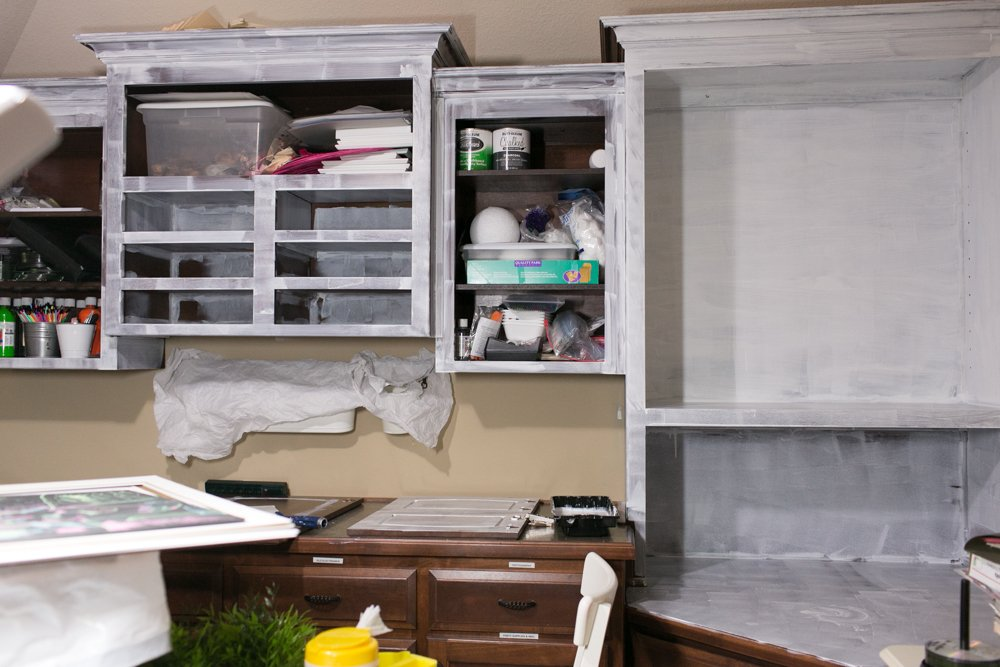 ikea kitchen cabinets craft room