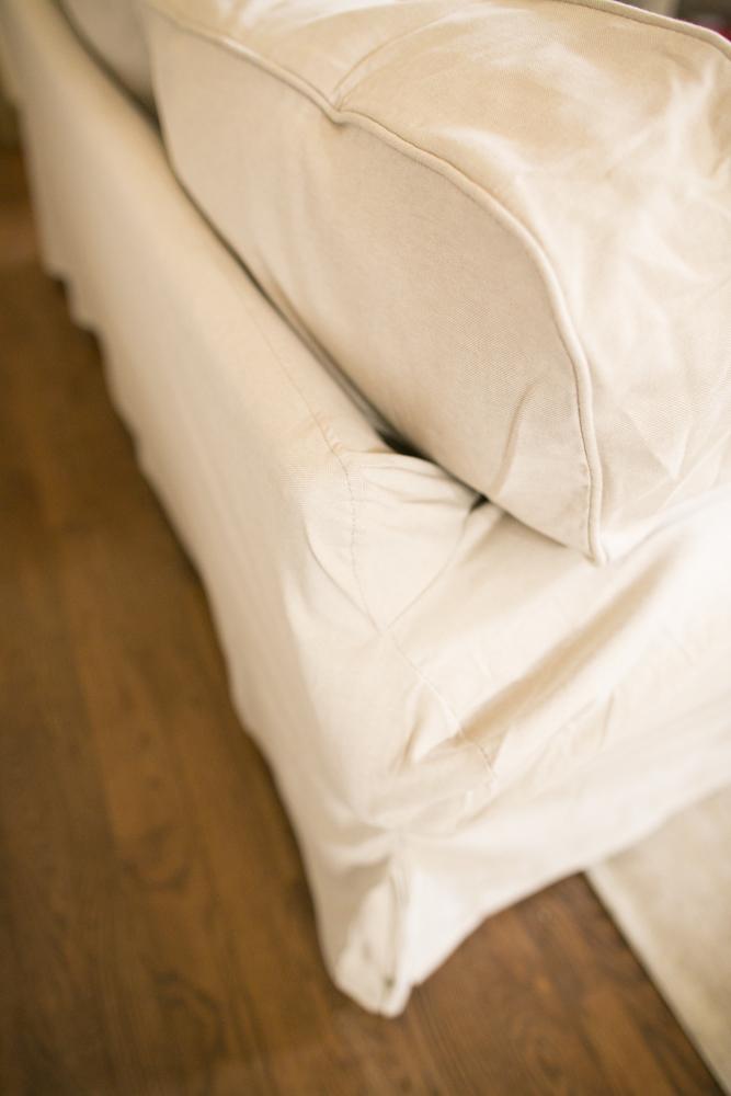 Does The Ikea Ektorp Slipcover Fit Pottery Barn Basic?