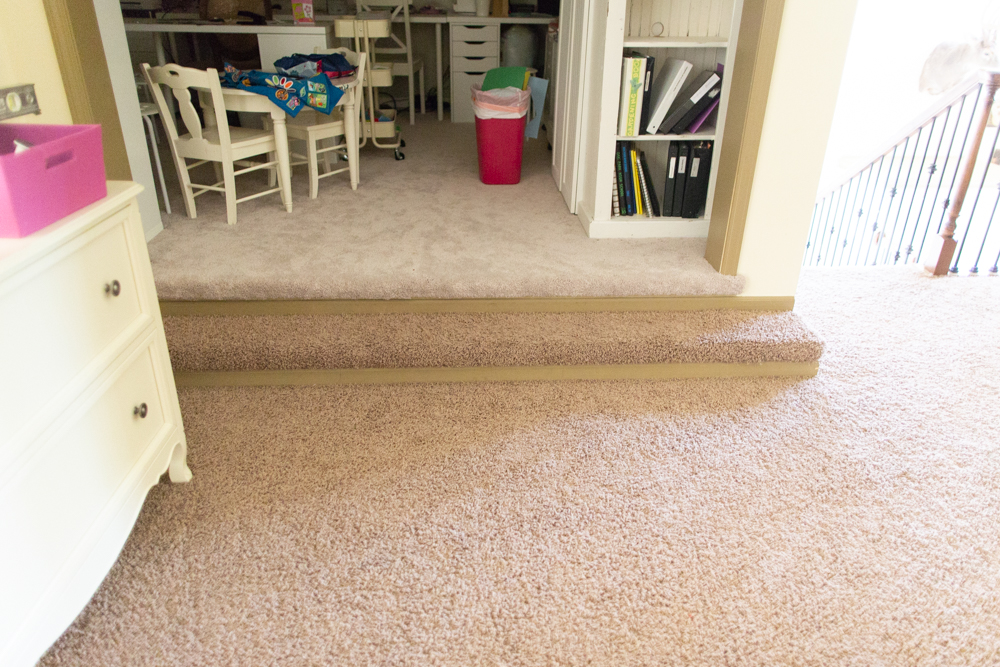 diy wood flooring on steps