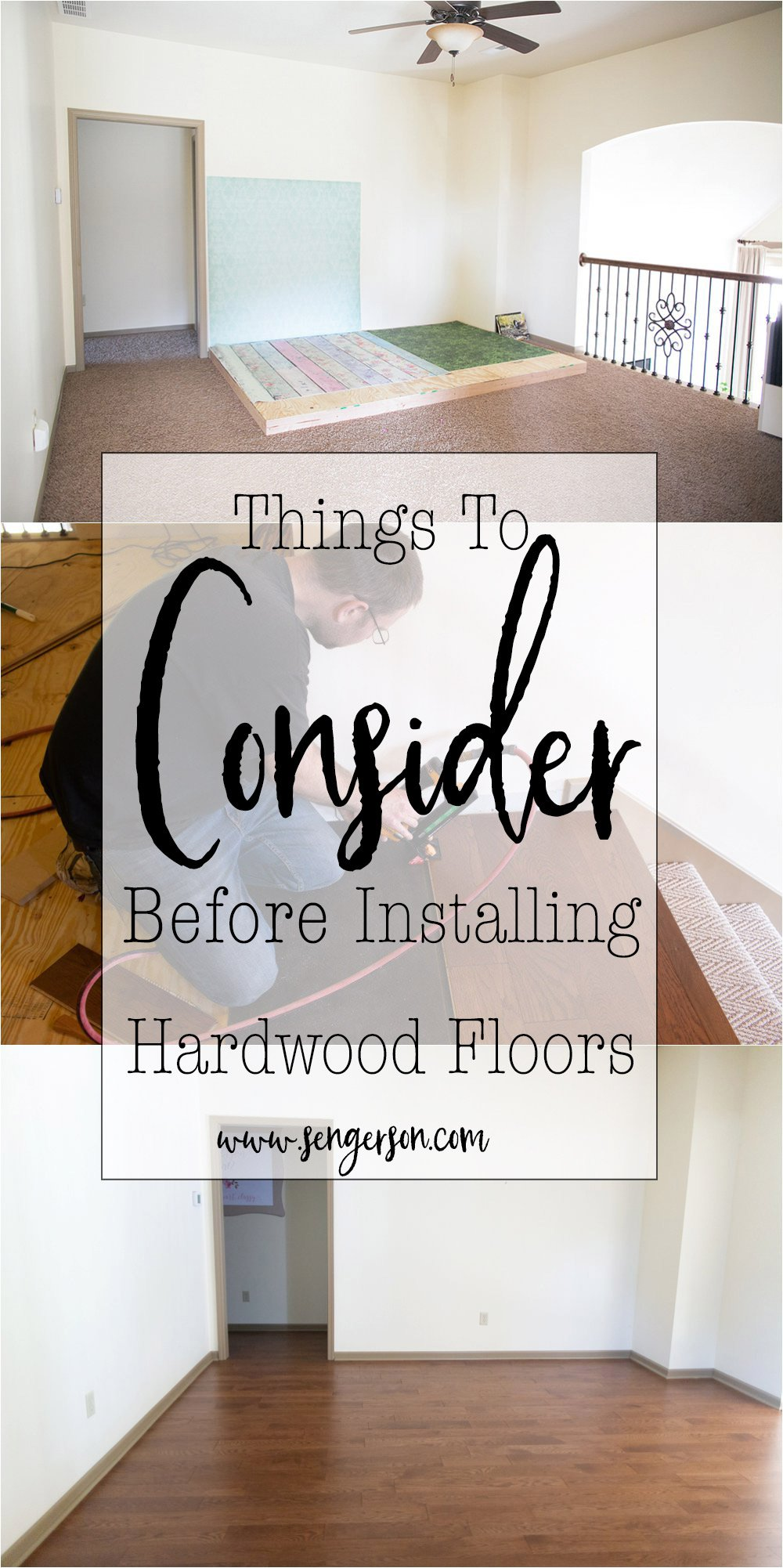 things to consider before installing hardwoods