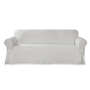 sofa slipcover white sure fit