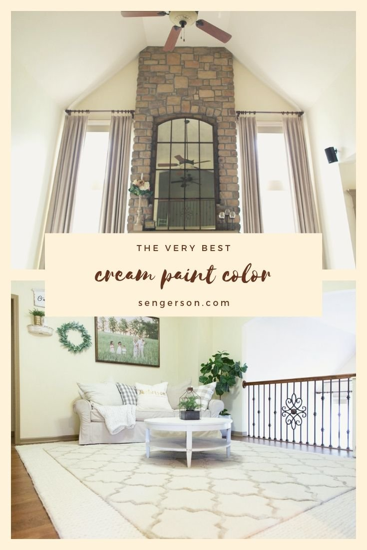 The Ultimate Cream Color Paint: Benjamin Moore Simply Irresistible 205