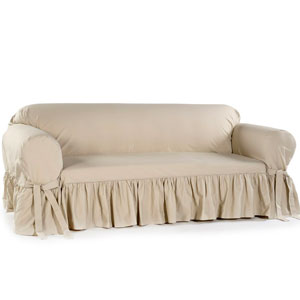 affordable sofa slipcovers with skirt