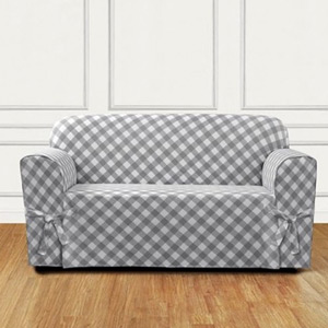 buaffalo check sofa slipcovers