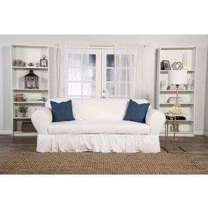 skirted box cushion sofa slipcovers