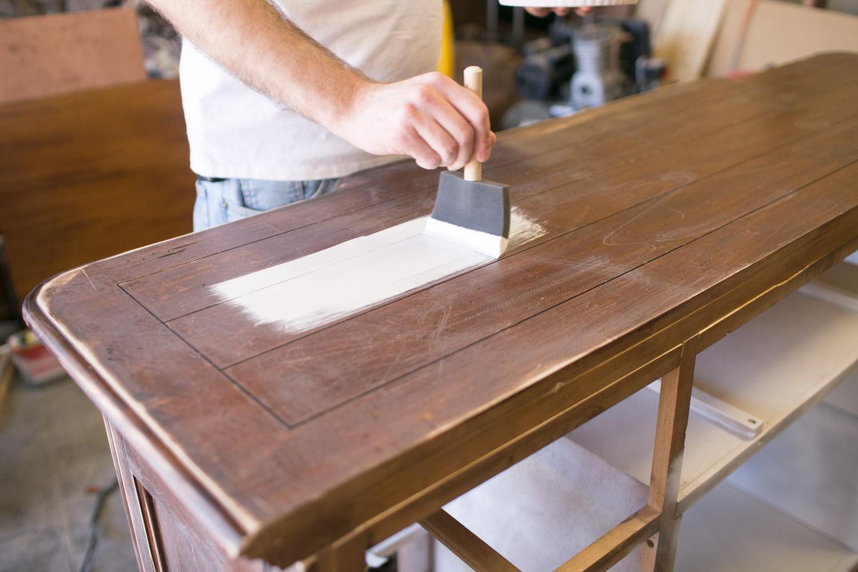 chalk paint dresser painting tips