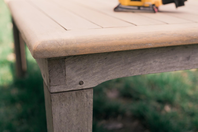 restoring teak furniture, teak patio set difference