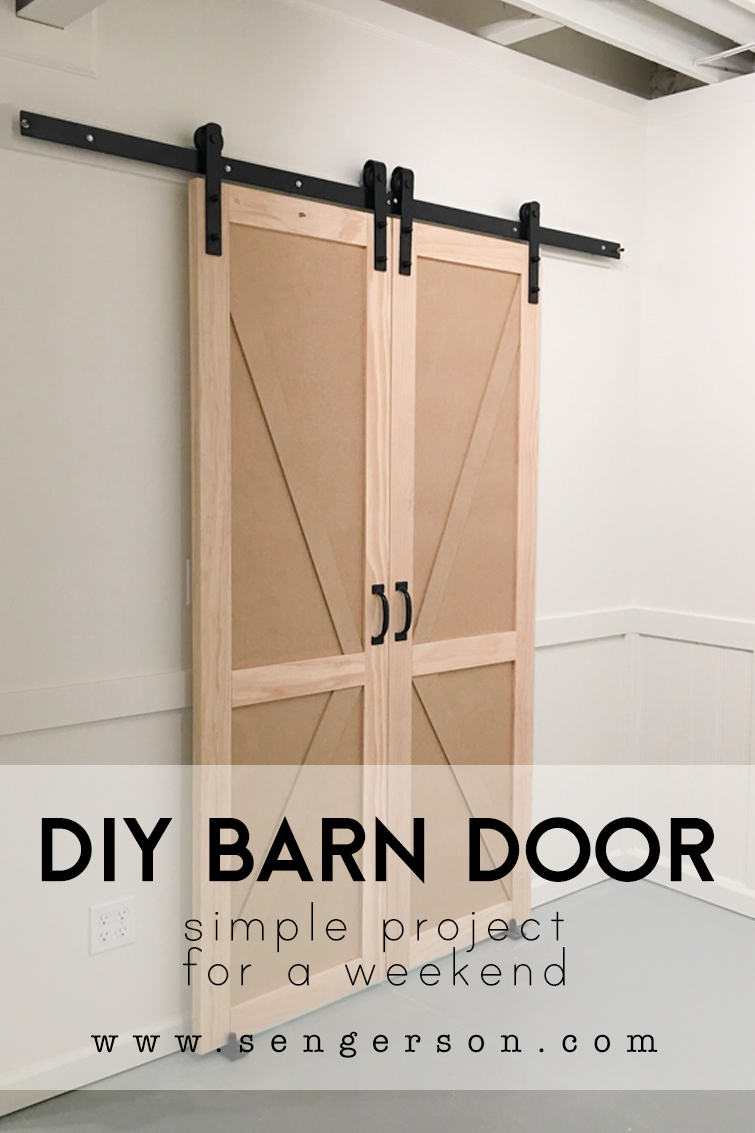 Easiest Tutorial On A Sliding Barn Door Closet